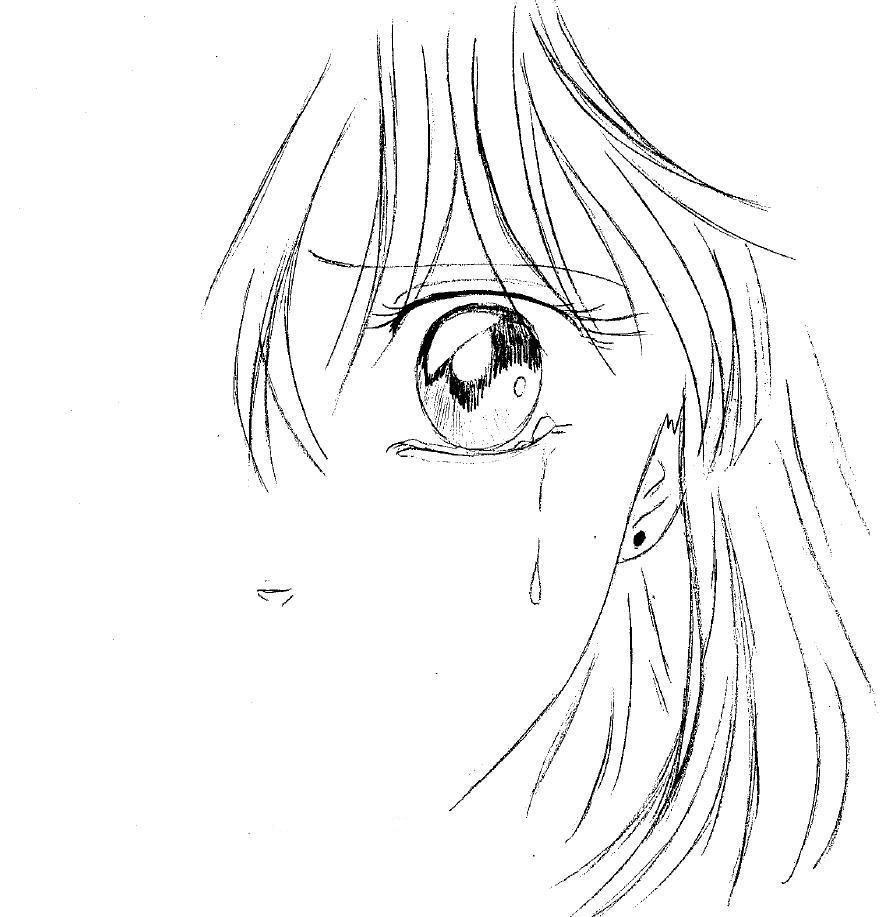 Dessin Manga Fille Visage